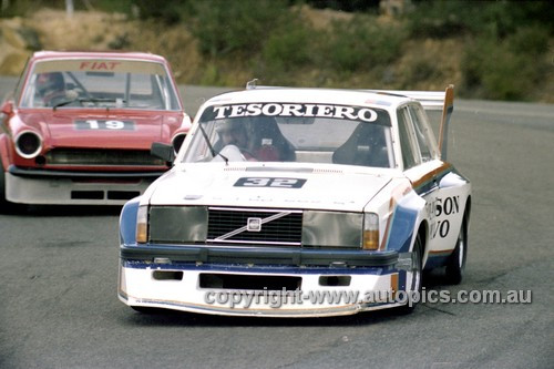 81073  - John Tesoriero, Volvo - Amaroo 1981 - Photographer Lance Ruting