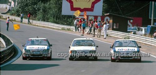 86060 -  Spa 24 Hour - The three VK Commodores - Brock / Moffat / Harvey - Grice / Delcourt / Guyaux - Lowe /baigent / Bowkett