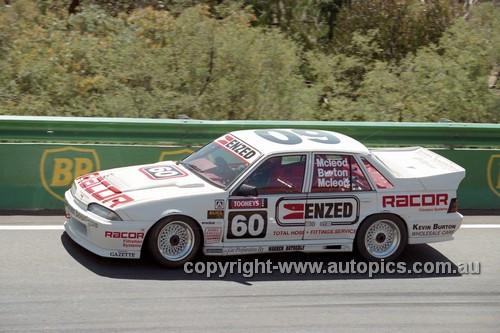94830  - Ryan McLeod / Kevin Burton / Peter McLeod, Commodore VL  - Tooheys 1000 Bathurst 1994 - Photographer Marshall Cass