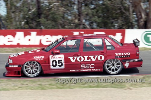 96742 - Jim Richards Volvo 850 - Bathurst 1996 - Photographer Marshall Cass