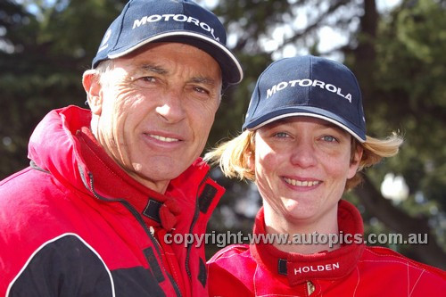 203043 - Peter Brock & Anne Gigney, Holden Rodeo - Australian Safari 2003
