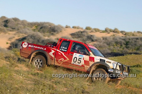 203044 - Peter Brock & Anne Gigney, Holden Rodeo - Australian Safari 2003
