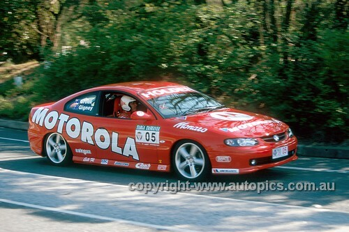 203045 - Peter Brock & Anne Gigney, Holden Monaro - Targa Tasmania 2003
