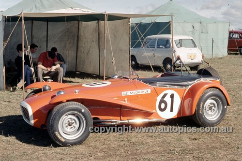 694001 - Alex MacCarthur, Lotus Super 7 - Oran Park 1969 - Anne Blackwood Collection