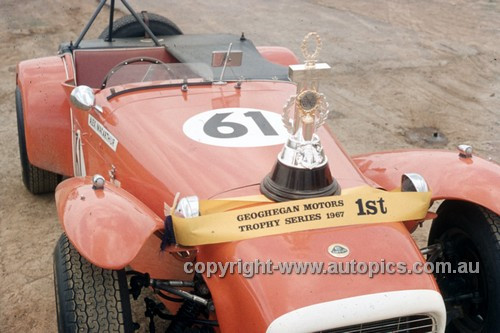 694003 - Alex MacCarthur, Lotus Super 7 - Oran Park 1969 - Anne Blackwood Collection