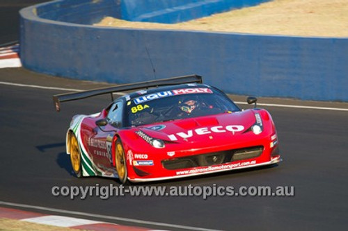 14001 - P. Edwards / J. Bowe / C.Lowndes / M. Salo - Ferrari F458 Italia - Winner - 2014 Bathurst 12 Hour - Photographer Jeremy Braithwaite