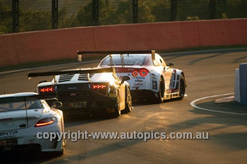 14002 - P. Edwards / J. Bowe / C.Lowndes / M. Salo - Ferrari F458 Italia - Winner - 2014 Bathurst 12 Hour  - Photographer Jeremy Braithwaite