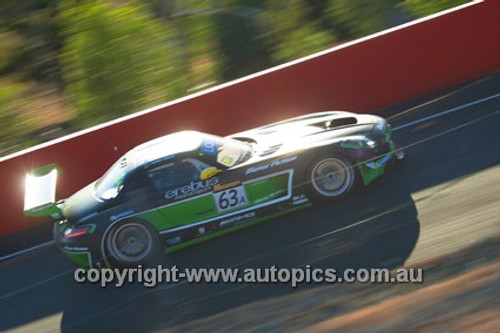 14006 - W. Davison / J. Brocq / G. Crick - Mercedes  SLS AMG GT - 2014 Bathurst 12 Hour  - Photographer Jeremy Braithwaite
