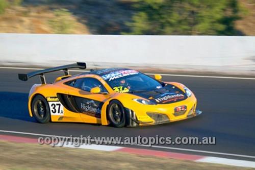 14007 - T. Quinn / K. Quinn / A. Kirkaldy / S. Gisbergen - McLaren MP4 12C - 2014 Bathurst 12 Hour  - Photographer Jeremy Braithwaite