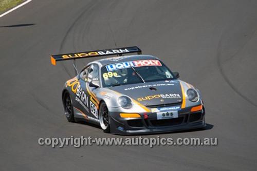 14015 - T. Koundouris / S. Owen / M. Twigg - Porsche 911 GT3 Cup - 2014 Bathurst 12 Hour  - Photographer Jeremy Braithwaite