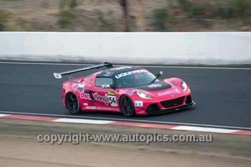 14019 - A. Alford / P. Leemhuis / M. O'Connor - Lotus - 2014 Bathurst 12 Hour  - Photographer Jeremy Braithwaite