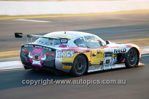14023 - M. Griffith / K. Reindler / D.Gaunt - Ginetta G50 - 2014 Bathurst 12 Hour  - Photographer Jeremy Braithwaite