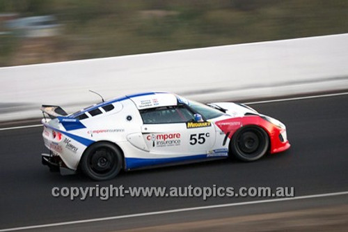 14024 - G. Shedden / P. Storey / B. Gower - Lotus Exige - 2014 Bathurst 12 Hour  - Photographer Jeremy Braithwaite