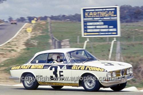 68784  -  Brian Foley / Laurie Stewart Alfa Romeo 1750 GTV - 1968 Hardie Ferodo 500 Bathurst