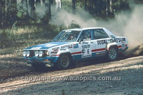 78909 - George Fury & Monty Suffern, Datsun Stanza - Winner of the  Southern Cross Rally 1978