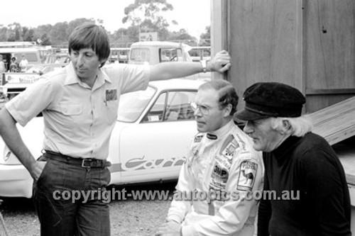 80077  -  Allan Moffat, Harry Firth & Allan Hamilton - Sandown 1980 - Photographer Darren House