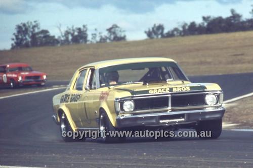 72323 - Ian (Pete) Geoghegan, Super Falcon - Oran Park 1972