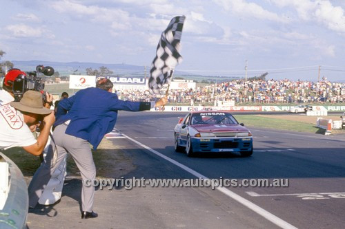 91769  -  Jim Richards & Mark Skaife  -  Tooheys 1000 Bathurst 1991 - 1st Outright - Nissan GTR
