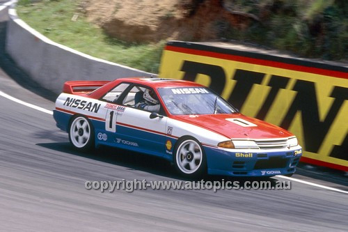 91770  -  Jim Richards & Mark Skaife  -  Tooheys 1000 Bathurst 1991 - 1st Outright - Nissan GTR
