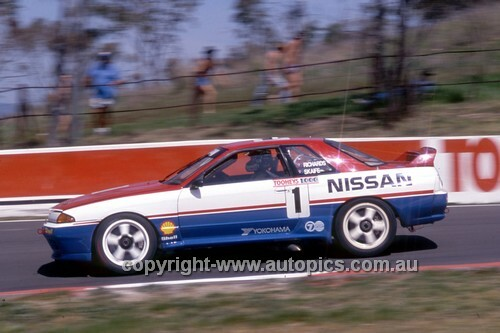 91771  -  Jim Richards & Mark Skaife  -  Tooheys 1000 Bathurst 1991 - 1st Outright - Nissan GTR