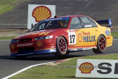 97016 - Dick Johnson, Falcon EL - Sandown 1997 - Photographer Marshall Cass