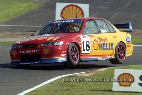 97015 - John Bowe, Falcon EL - Sandown 1997 - Photographer Marshall Cass