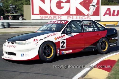 97014 - Mark Skaife, Gibson Motor Sport VS Commodore - Sandown 1997 - Photographer Marshall Cass