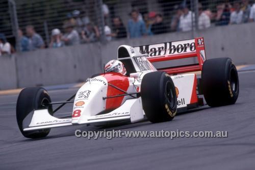 94506 - Martin Brundle, McLaren-Peuget- 3rd place Australian Grand Prix - Adelaide 1994