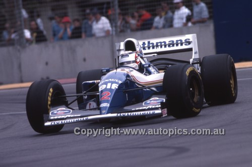 94504 - Nigel Mansell - Williams Renault - Winner of the Australian Grand Prix - Adelaide 1994