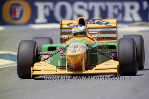 93520 - Michael Schumacher, Benetton-Ford - Australian Grand Prix Adelaide 1993 - Photographer Marshall Cass