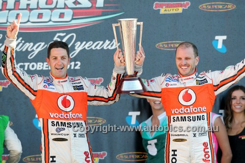 12717a -  Paul Dumbrell & Jamie Whincup, Holden Commodore VE2 -  Winner Bathurst 1000  2012