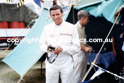Jim Clark  -  Tasman Series  Warwick Farm   1966