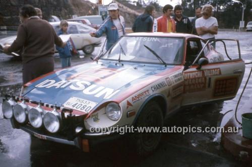 76098 - Ross Dunkerton, Datsun 260Z - Warrana Rally 1976 - Photographer Martin Domeracki