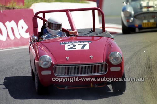 98220 - Bob Rowntree, Austin Healey Sprite - Donald Healey International Tribute - Bathurst 1998 - Photographer Marshall Cass