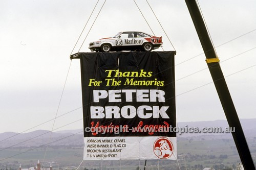 "97811 - Peter Brock's ""Farewell""  - Bathurst 1997 - Photographer Marshall Cass"