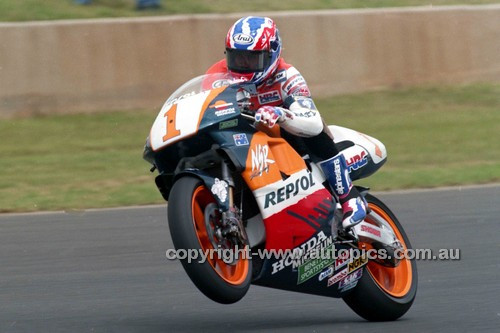 95302 - Mick Doohan  Honda  - Australian Moto GP Eastern Creek 1995 - Photographer Marshall Cass