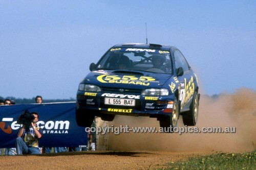 94509 - Possum Bourne, Subaru Impreza WRX - 1994 Telecom Rally