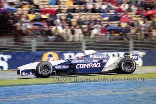 202514a - Juan Pablo Montoya  Williams-BMW - 2nd Australian Grand Prix 2002 - Photographer Craig Clifford