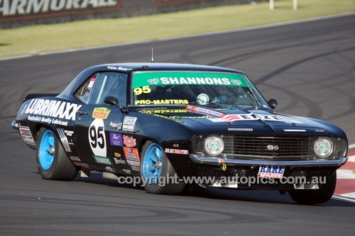 14077 - Andrew Miedecke, Camaro SS - Australian Touring Car Masters - Bathurst 2014 - Photographer Craig Clifford