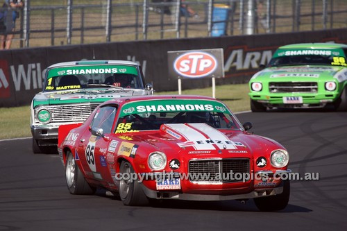 14076 - Mark King, Camaro RS - Australian Touring Car Masters - Bathurst 2014 - Photographer Craig Clifford