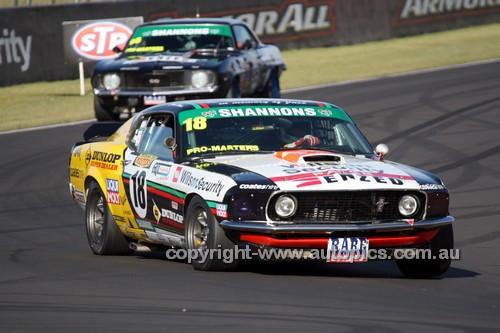 14075 - John Bowe, Mustang Trans Am - Australian Touring Car Masters - Bathurst 2014 - Photographer Craig Clifford