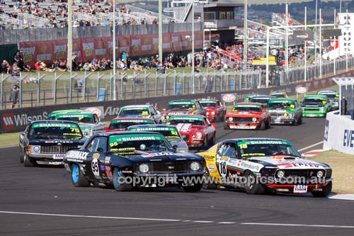 14074 - The Start of the Australian Touring Car Masters - Bathurst 2014 - Photographer Craig Clifford