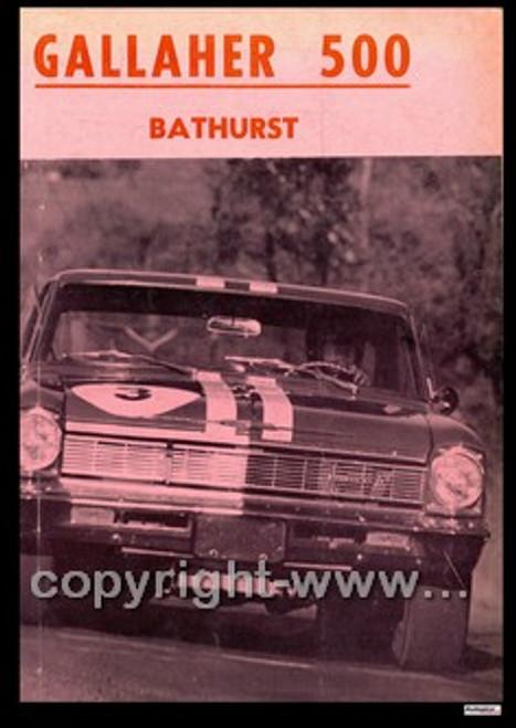 703 - Bathurst Programme 1966