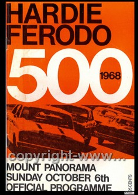 705 - Bathurst Programme 1968