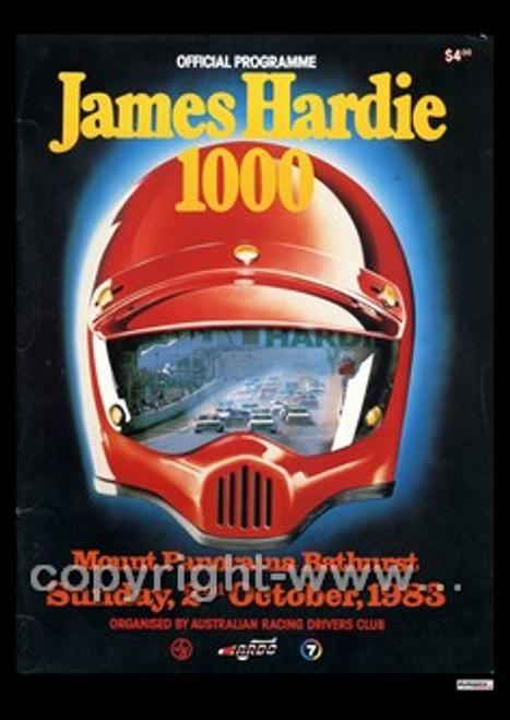 720 - Bathurst Programme 1983