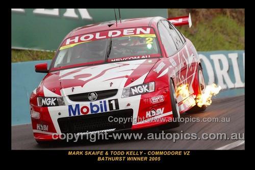 05733-1 - M. Skaife / T.  Kelly - Holden Commodore VZ - Ist Outright Bathurst 2005