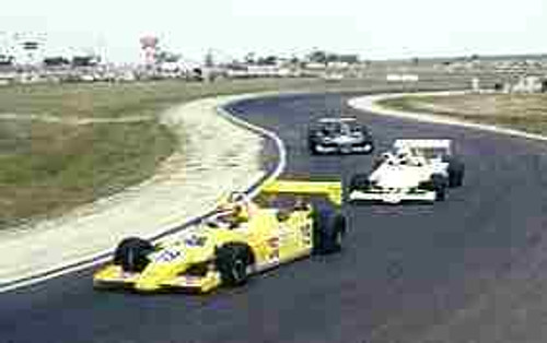 R. Moreno / J. Laffite / N. Piquet  -  Ralt RT4 - Calder Park AGP 1981