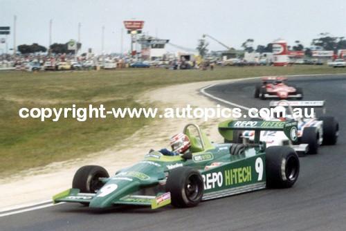 N. Piquet  -  Ralt RT4 - Calder Park AGP 1981 - 2nd Place