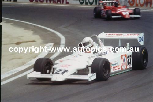 A. Jones  -  Ralt RT4 - Calder Park AGP 1981