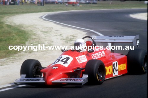 A. Costanzo  -  Tiga FA81 - Calder Park AGP 1981
